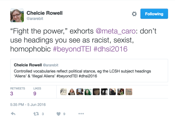 Tweets by Chelcie Rowell, @ararebit