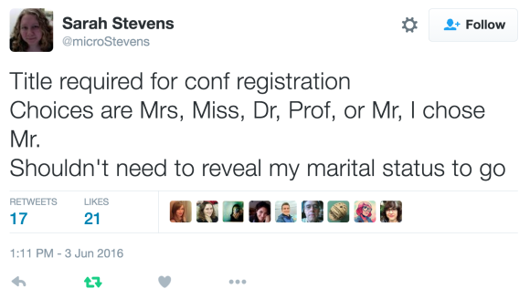 Title Required, tweet by Sarah Stevens, @microStevens